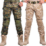 Military Pants With Knee Pads (9 colors) - Indigo-Temple