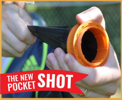 The New Pocket ProShot™ Circular Slingshot - Indigo-Temple