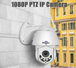 IX-EYE™ 1080P  HD WiFi Outdoor weatherproof PTZ  Security  Camera - Indigo-Temple