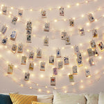 Fairy™ Photo Clip USB LED String Lights - Indigo-Temple