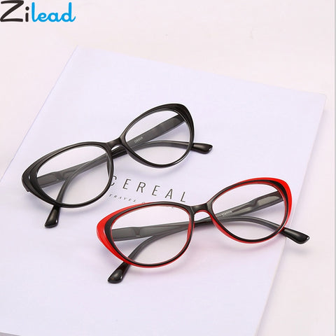 Zilead™ Classical Cat Eye Prescription Reading Glasses