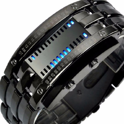 """Visionar"" Futuristic Watch for Men"