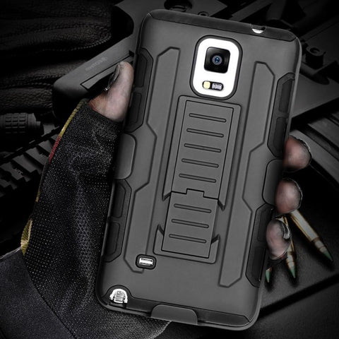 Military Armor Case For Samsung Galaxy & iPhone - Indigo-Temple