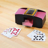 Automatic Card Shuffler - Indigo-Temple