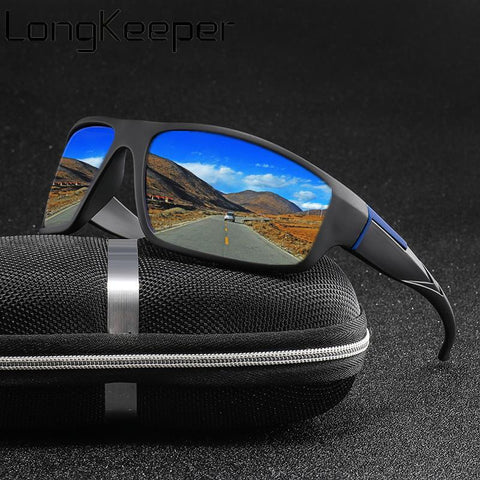 Mirror-X™ Sports Polarized Mirror Sunglasses