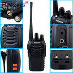 2pcs Portable Walkie Hf Transceiver - Indigo-Temple