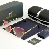 MUSELIFE™ Rimless Crystal Sunglasses For Women