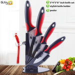 PerfectChef™ Zirconia Ceramic Knife Set & Holder