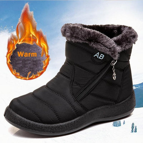 Waterproof Lightweight  Snow Boots For Women