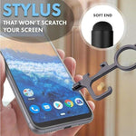 Smart 4 in 1 Touch-less EDC Door Opener With Stretchable Keychain ***2 pcs set***