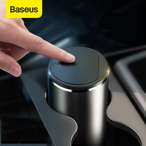 Baseus™ Luxurious Aluminum Alloy Car Trash