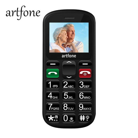 Artphone™ User Friendly Mobile Phone For The Elderly