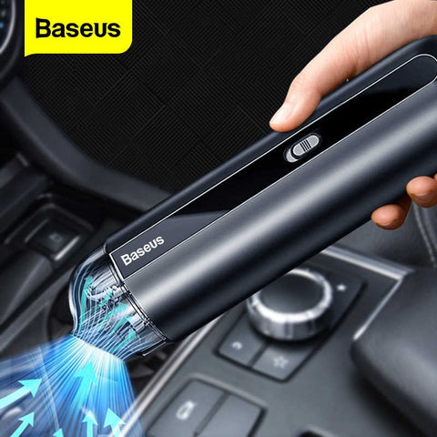 Baseus™ Rechargeable Wireless Car Vacuum Cleaner 5000Pa Suction
