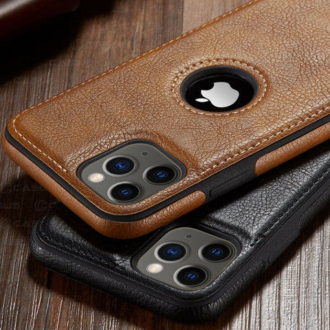 Luxury Business Leather iPhone Case