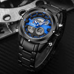Military Analog Digital Watch (4 colors) - Indigo-Temple