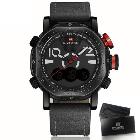 Military Casual Watch (5 colors) - Indigo-Temple