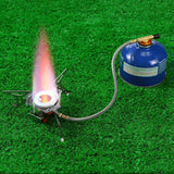 Gas-powered Stove with Piezo Ignition - Indigo-Temple