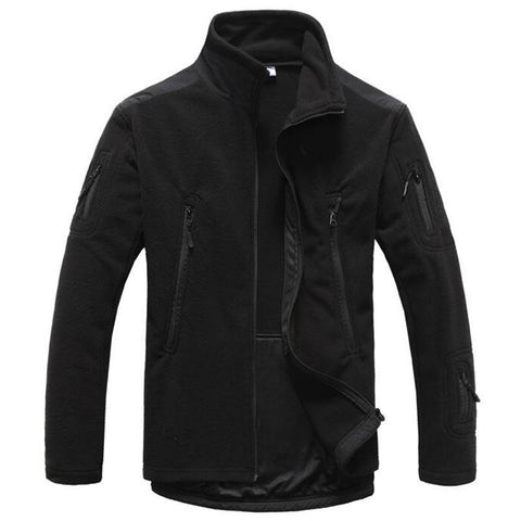 Tactical Thermal Fleece Jacket  (4 colors) - Indigo-Temple