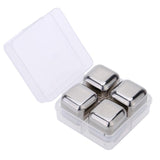 Stainless Steel Drink Chilling Cubes - Indigo-Temple