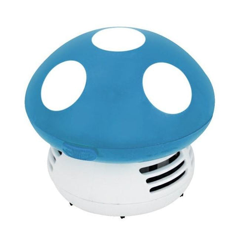 Mini Mushroom Vacuum Cleaner - Indigo-Temple