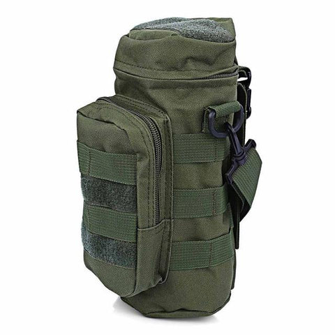 Molle Oxford Water Bottle Pouch (7 colors) - Indigo-Temple
