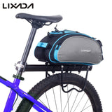 Rear-Rack Cycling Bag - Indigo-Temple