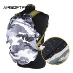 Military Waterproof Backpack Cover (2pcs) - Indigo-Temple