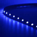 USB Powered TV BackLight LED Strip + Remote - Indigo-Temple