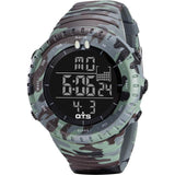 Camouflage Tactical Multifunction Watch - Indigo-Temple