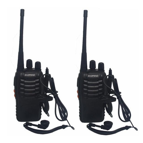 2Pcs/set  Walkie Talkie Radio 400-470MHz - Indigo-Temple