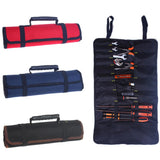 Multifunctional Rolling Utility Tool Bag - Indigo-Temple
