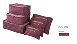 Indigo™ Travel Cubes - Perfect Luggage Organizer (6 PCS) + Gift - Indigo-Temple