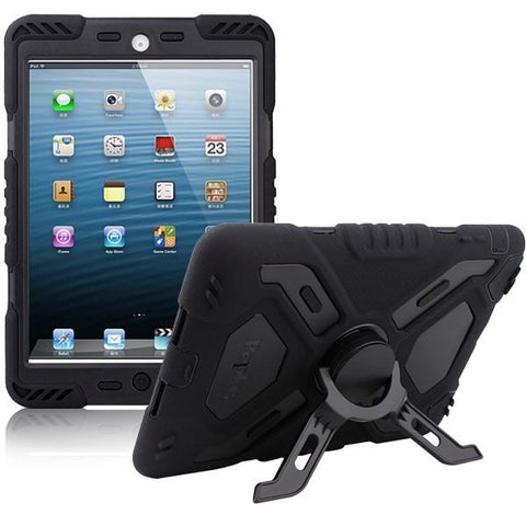 Military Waterproof /Dust/Shock Proof iPad Case - Indigo-Temple