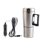 Electric Heated Car Mug/Thermos - Indigo-Temple
