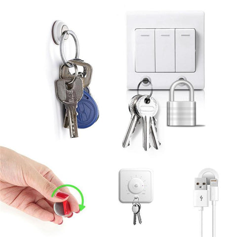 Decorative Magnetic Key Holder 6pcs/pack - Indigo-Temple