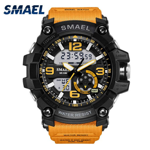 LAND GUARDIAN - SMAEL™ Waterproof & Shockproof Military watch - Indigo-Temple