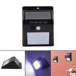 SOLARIS™ SOLAR-POWERED, MOTION-ACTIVATED OUTDOOR LED LIGHT - Indigo-Temple