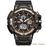GP - 783 SMAEL™  Waterproof and Shockproof Military Watch - Indigo-Temple