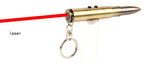 Mini 3 IN 1 LED Flashlight / Ball-point Pen/Red Laser /Key Chain - Indigo-Temple