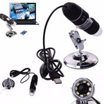 500x 800x 1000x USB Digital Microscope Camera - Indigo-Temple