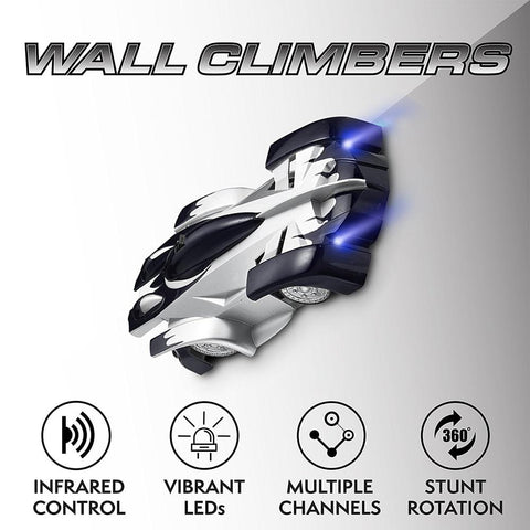 RC ZERO GRAVITY Wall Climbing Race Cars - Indigo-Temple
