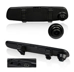 "HD Mirror Cam - 1080P With 4.3"" Digital Screen Car DVR - Indigo-Temple"