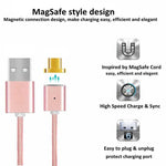 MAGNETIC FAST CHARGING CABLE - Indigo-Temple