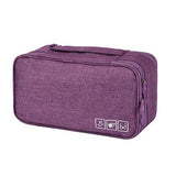 Bra & Underwear Travel Organizer - Indigo-Temple