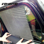 Auto-Retractable Car Side Window Sun Shield - Indigo-Temple