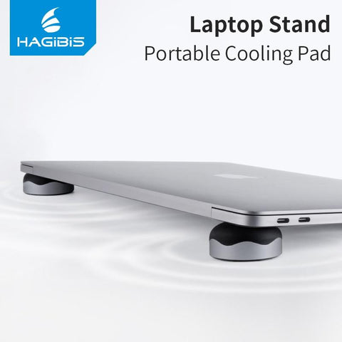 Hagibis™ Magnetic Skid-Proof Laptop Cooling Stand - Indigo-Temple