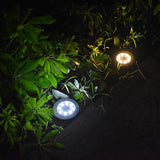 SolarCharge™ Garden Ground Solar powered  Light (2/4/8 pcs set) - Indigo-Temple