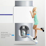 Anti-Bacterial UV Toothbrush Sterilizer and Toothpaste Dispenser - Indigo-Temple