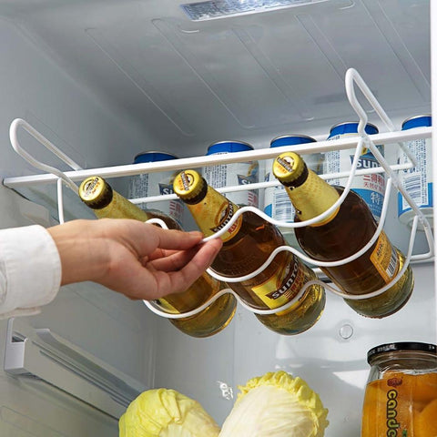 Universal Refrigerator Bottle Rack - Indigo-Temple