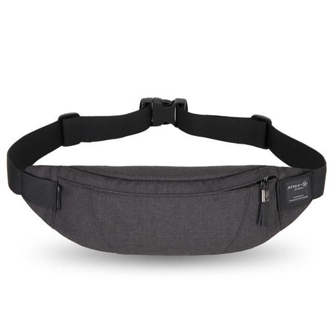 Casual Anti-Theft Fanny Pack - Indigo-Temple